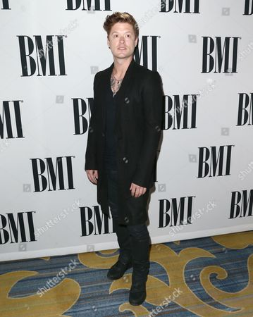 Nash Overstreet arrives at the 64th annual BMI Pop Awards at the Beverly Wilshire Hotel, in Beverly Hills, Calif