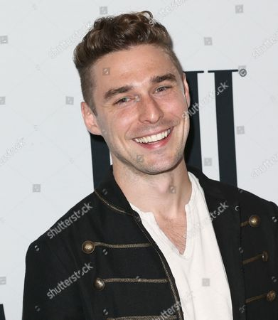 Nick Noonan of Karmin arrives at the 64th annual BMI Pop Awards at the Beverly Wilshire Hotel, in Beverly Hills, Calif