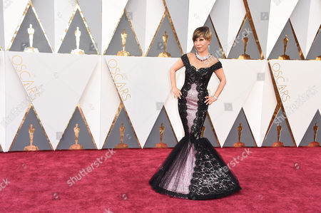 Sumi Jo arrives at the Oscars, at the Dolby Theatre in Los Angeles