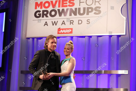 Editorial image of AARP's Movies for Grownups Awards - Show, Los Angeles, USA