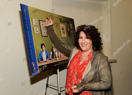 """MARCH 26: Creator/executive producer Eileen Heisler attends the Academy of Television Arts & Sciences Presents an Evening with """"The Middle"""" on in North Hollywood, California"""