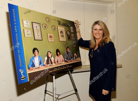 """MARCH 26: Creator/executive producer DeAnn Heline attends the Academy of Television Arts & Sciences Presents an Evening with """"The Middle"""" on in North Hollywood, California"""