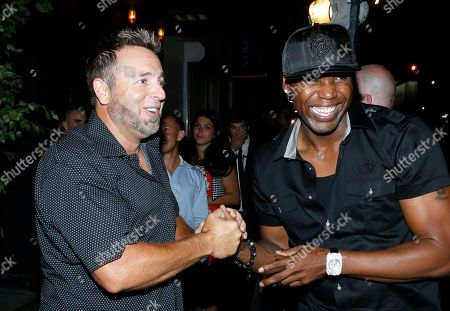 Kevin Millar and Cliff Floyd attend ACES All Stars 2013 Celebrate with GREY GOOSE Vodka at Marquee, on in New York. ACES, Inc. hosts this annual party to celebrate clients on 2013 MLB All Star Roster as well as legendary ACES clients and All Stars