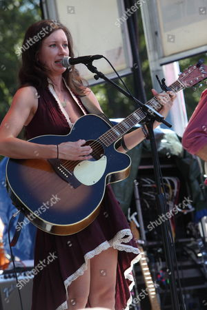 Stock Photo of Lera Lynn performs at Austin City Limits Music Festival on in Austin, Texas