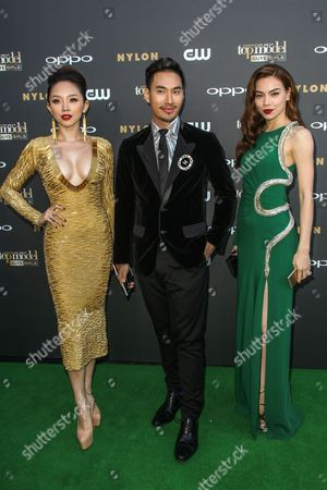 Editorial photo of America's Next Top Model Cycle 22 Premiere Party, Los Angeles, USA