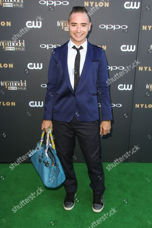 Michael Kuluva attends the 'America's Next Top Model' Cycle 22 Premiere Party at Greystone Manor on in Los Angeles