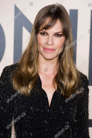"""Hillary Swank attends Giorgio Armani's """"One Night Only New Yorkâ?? fashion show on in New York"""
