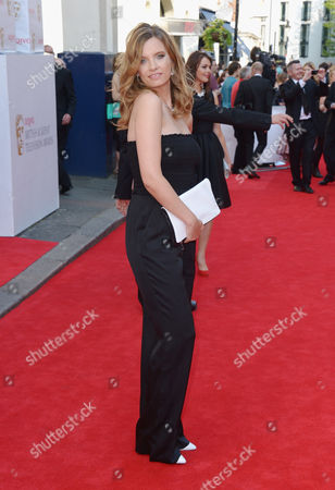 Ruth Crilly arrives at the Arquiva Bafta TV Awards at The Royal Opera House in London on