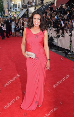 Susannah Reid arrives at the Arquiva Bafta TV Awards at The Royal Opera House in London on