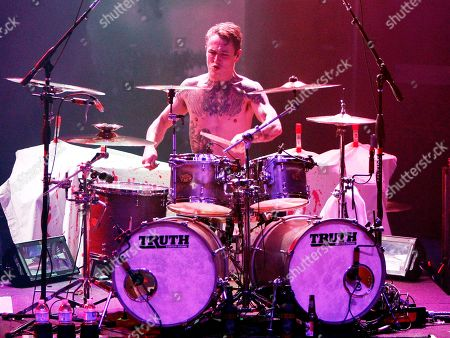 James Cassells Heavy metal band Asking Alexandria opened for Sevendust in concert at The Tabernacle on in Atlanta. Band members and fans were dressed up for the Halloween show