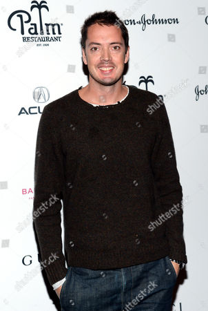 Designer Marcus Wainwright attends the Baby Buggy Fatherhood Program launch event at The Palm Restaurant, in New York
