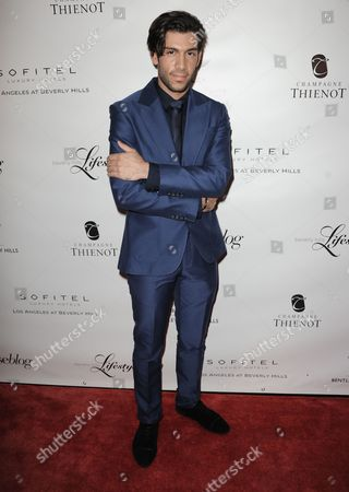 Stock Picture of Mohammad Molaei arrives at the Beverly Hills Lifestyle Magazine's 5th Anniversary at the Riveria 31 Lounge on in Los Angeles