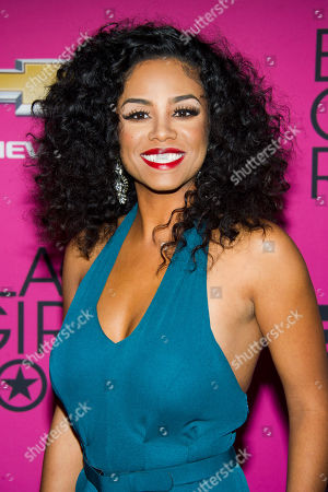 Stock Picture of Claudette Ortiz attends BET Networks' Black Girls Rock! on in Newark, N.J