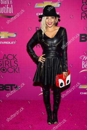Po Johnson attends BET Networks' Black Girls Rock! on in Newark, N.J