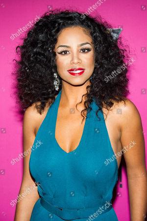 Stock Photo of Claudette Ortiz attends BET Networks' Black Girls Rock! on in Newark, N.J
