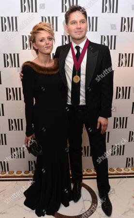 Bo Bruce and Johnny Quinn at the BMI London Awards 2013, held at the Dorchester Hotel, London, on
