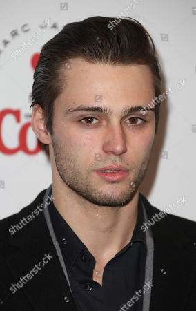 Stock Image of Claude Simonon arrives for the Launch party of a partnership between Diet Coke and fashion designer Marc Jacobs at a north London venue