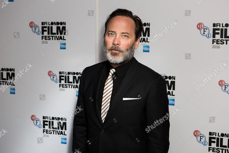 Actor Derrick Borte poses for photographers on arrival at the premiere of the film 'London Town', showing as part of the London Film Festival in London