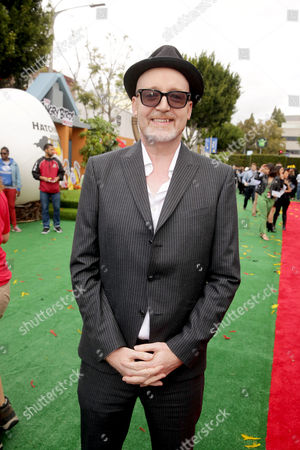 """Director Fergal Reilly seen at Columbia Pictures and Rovio Animations Premiere of """"The Angry Birds Movie"""" at Regency Village Theatre, in Los Angeles"""