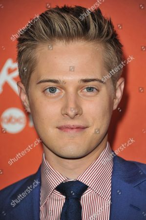 Lucas Grabeel arrives at the launch party for Crush by ABC Family at The London Hotel on in West Hollywood, Calif
