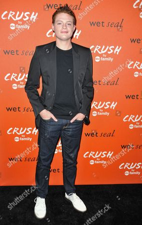 Sean Berdy arrives at the launch party for Crush by ABC Family at The London Hotel on in West Hollywood, Calif