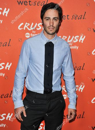 Richard Brancatisano arrives at the launch party for Crush by ABC Family at The London Hotel on in West Hollywood, Calif