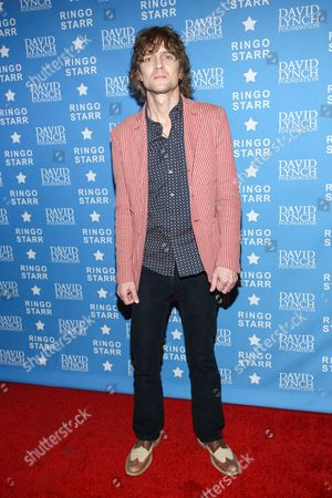 "Musician Brendan Benson attends the David Lynch Foundation Honors Ringo Star ""A Lifetime of Peace & Love"" event held at the El Rey Theatre on in Los Angeles"