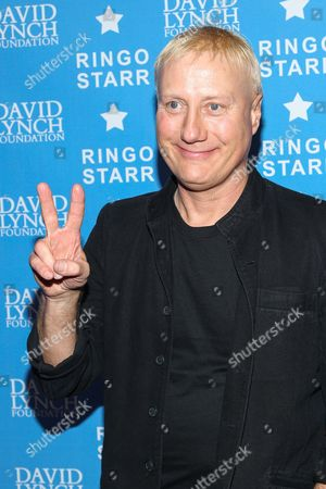 "Drummer Gregg Bissonette attends the David Lynch Foundation Honors Ringo Star ""A Lifetime of Peace & Love"" event held at the El Rey Theatre on in Los Angeles"