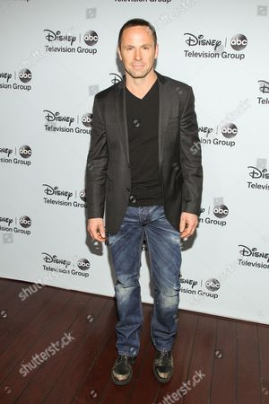 Stock Picture of Actor William deVry attends the Disney/ABC Winter 2014 TCA All Star Reception on in Pasadena, Calif