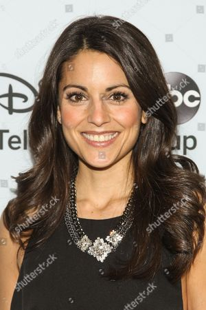 Actress Kate Simses attends the Disney/ABC Winter 2014 TCA All Star Reception on in Pasadena, Calif