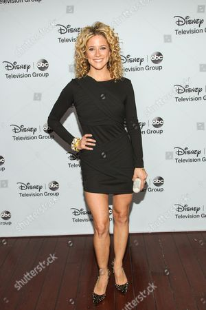 Actress Alexis Carra attends the Disney/ABC Winter 2014 TCA All Star Reception on in Pasadena, Calif
