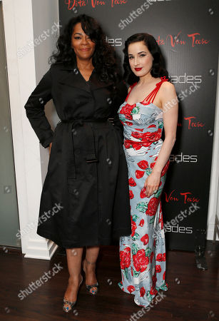 Jody Watley and Dita Von Teese attend Dita's Collection Launch at Decades, in Los Angeles