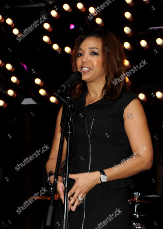 ESSENCE Multicultural Marketing Mgr. Shawn Thompson speaks at the 5th Annual ESSENCE Black Women in Music reception, on at 1 OAK in Los Angeles, Calif