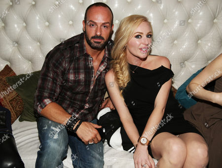 Sascha Gerecht and Isabel Adrian seen at the Euros of Hollywood Premiere Party at St. Felix on in Hollywood, Calif