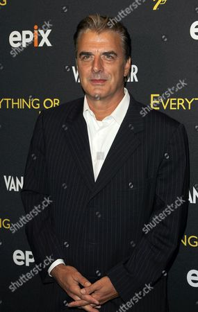 Chris North attends the premiere of Everything or Nothing: The Untold Story of 007 at The Museum of Modern Art on in New York