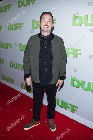 """Editorial photo of Fan Screening Of """"THE DUFF"""" - Red Carpet, Los Angeles, USA"""