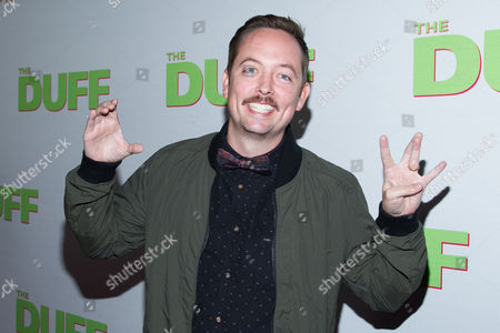 """Stock Picture of Chris Wylde arrives at the Los Angeles Fan Screening of """"THE DUFF"""", in Los Angeles"""