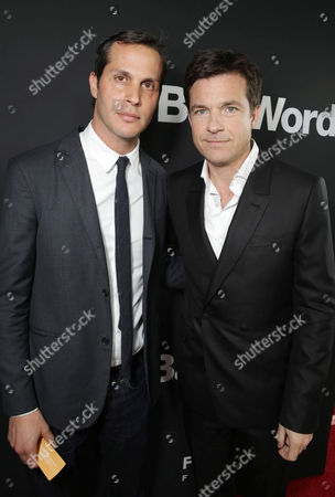 Focus Features President of Production Jeb Brody and Jason Bateman seen at Focus Features 'Bad Words' Los Angeles Premiere, on Wednesday, March, 5, 2014 in Los Angeles