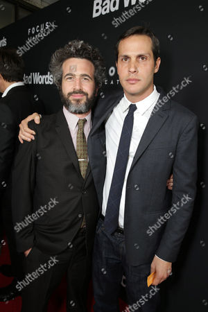 Ethan Sandler and Focus Features President of Production Jeb Brody seen at Focus Features 'Bad Words' Los Angeles Premiere, on Wednesday, March, 5, 2014 in Los Angeles