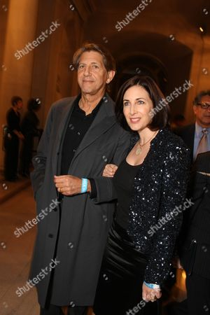 OCTOBER 28: Peter Coyote and Stephanie Coyote at Focus Features World Premiere of 'MILK' on at the Castro Theatre in San Francisco, CA
