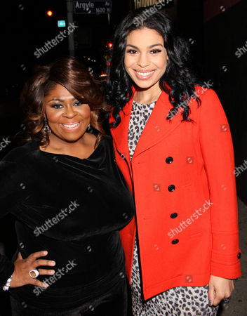 Kim Burrell, left, and Jordin Sparks attend For the Love of R&B - A Tribute to Whitney Houston at Tru Hollywood, in Los Angeles