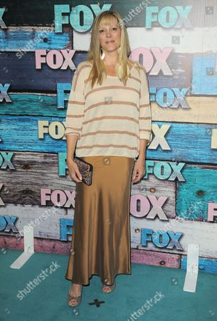 Wendy Schaal attends the FOX All-Star Party, in West Hollywood, Calif