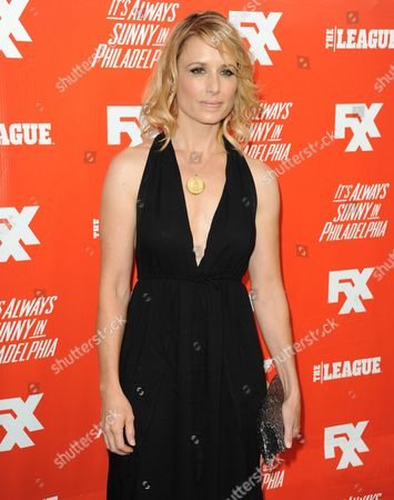 Shawnee Smith arrives at the FXX Network Launch Party at Lure on in Los Angeles
