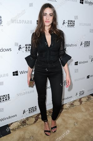 """Luisa Moraes attends the """"Girls To The Front"""" event held at the Chateau Marmont, in Los Angeles"""