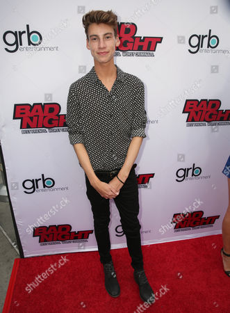 "Editorial image of GRB Entertainment's ""Bad Night"" Premiere, Los Angeles, USA"