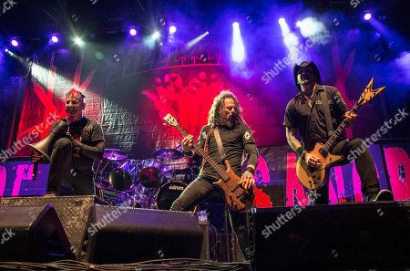 Chad Gray, Tom Maxwell, Vinnie Paul, Kyle Sanders Hellyeah performing at the Arena at Gwinnett Center, in Atlanta
