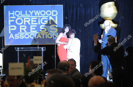 Editorial image of Hollywood Foreign Press Association Luncheon 2012 - Inside, Beverly Hills, USA
