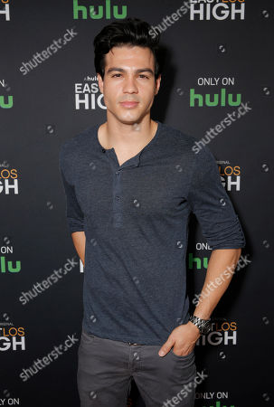 Ray Diaz attends Hulu's East Lost High Season 2 Premiere at Landmark Theater on Wednesday July, 9 2014, in Los Angeles