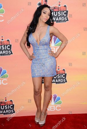 Editorial photo of iHeartRadio Music Awards - Arrivals, Los Angeles, USA