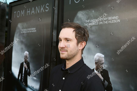 """Sam Huntington seen at the Los Angeles Industry Screening of Warner Bros. Pictures and Village Roadshow Pictures """"Sully"""" at The DGA Theater, in Los Angeles"""